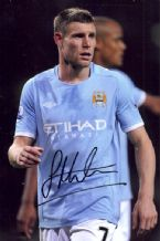 James Milner Autograph Signed Photo